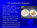 us market development