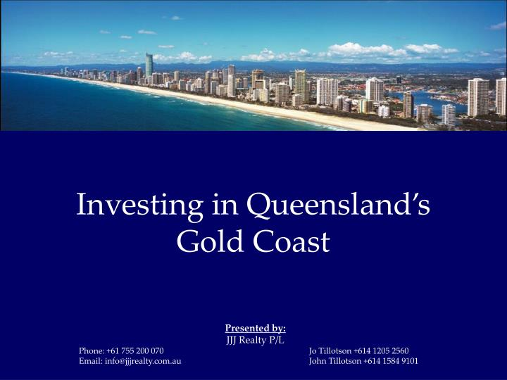 investing in queensland s gold coast