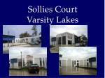 sollies court varsity lakes