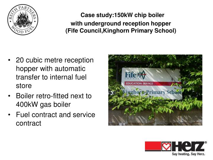 Case study:150kW chip boiler