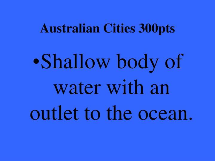 Australian Cities 300pts