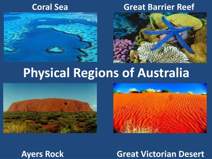 Physical Regions of Australia