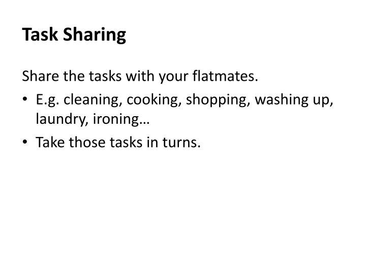 Task Sharing