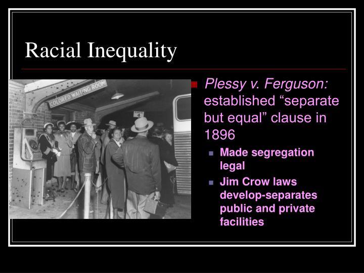 Racial Inequality