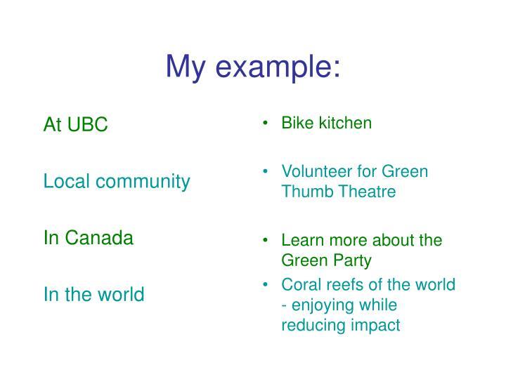 At UBC