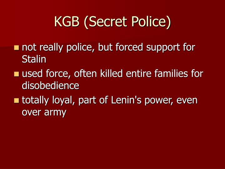 KGB (Secret Police)