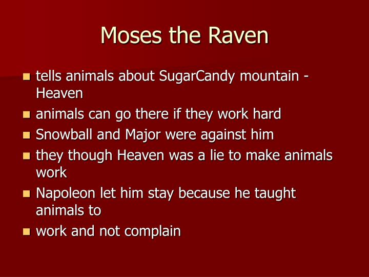 Moses the Raven