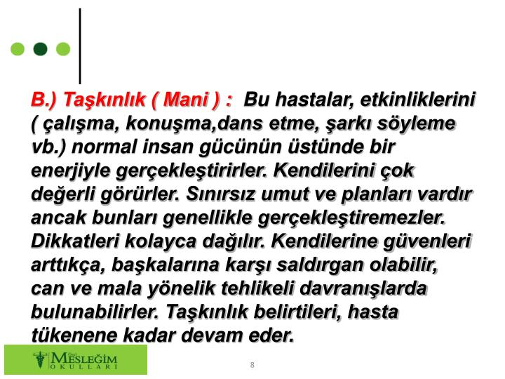 B.) Taknlk ( Mani ) :