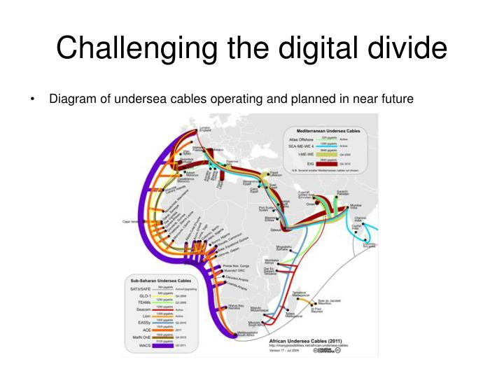 Challenging the digital divide