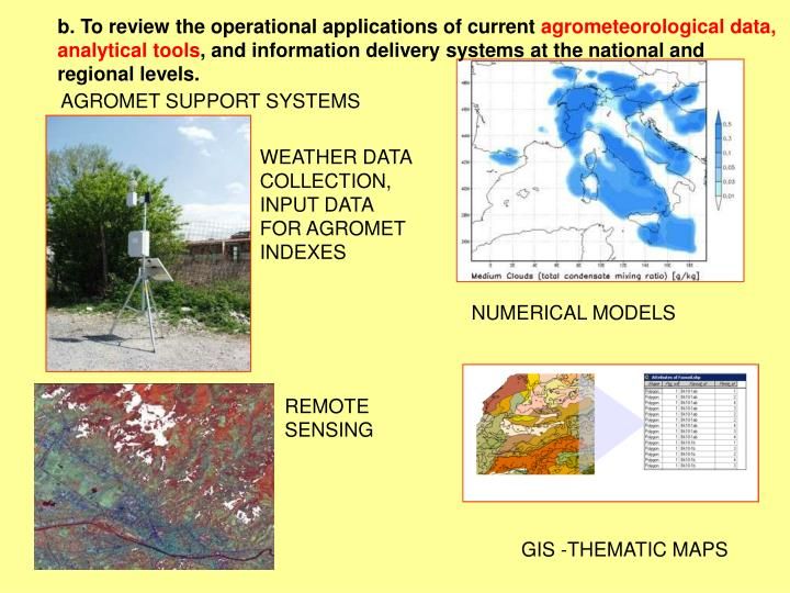 b. To review the operational applications of current