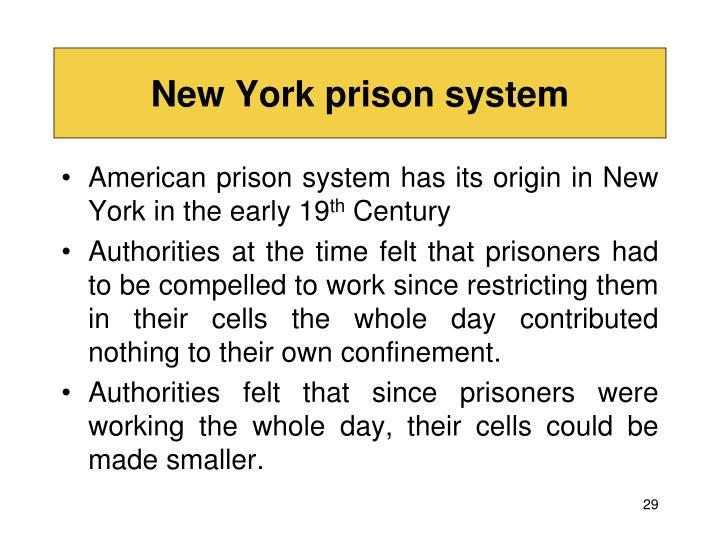 New York prison system