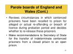 parole boards of england and wales cont