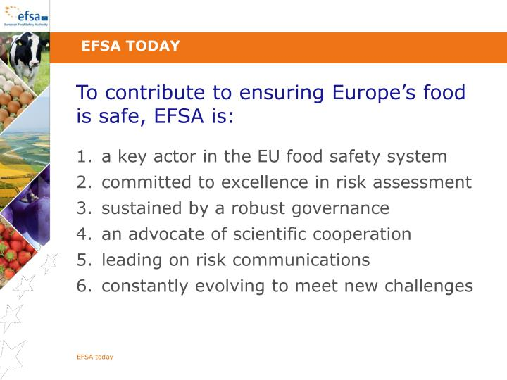 EFSA today