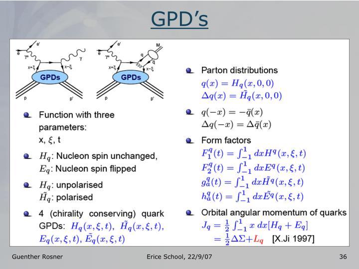 GPD's
