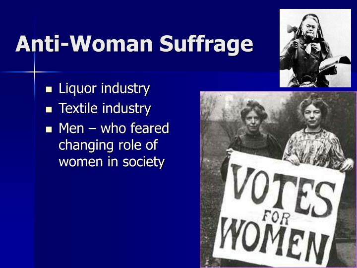 Anti-Woman Suffrage
