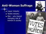 anti woman suffrage