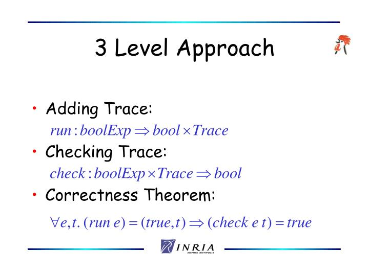 3 Level Approach