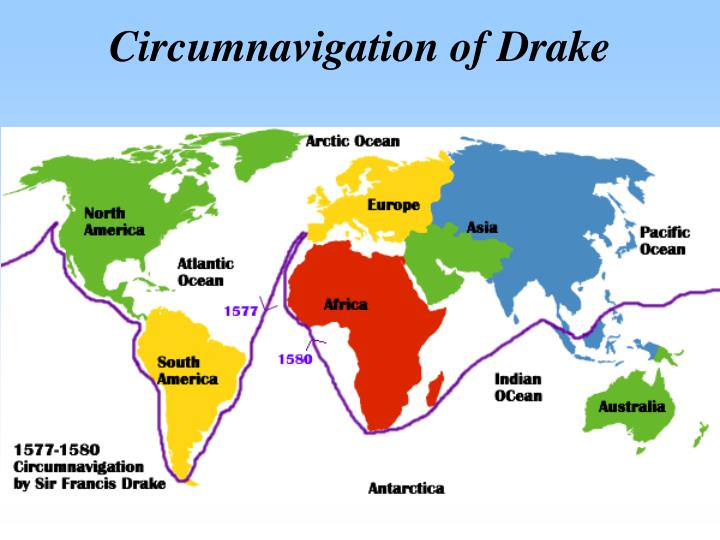 Circumnavigation of Drake