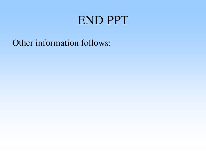 END PPT