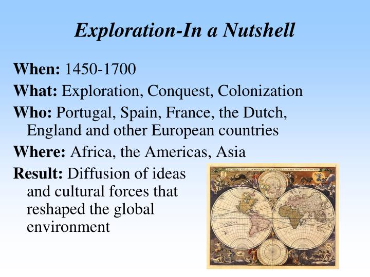 Exploration-In a Nutshell