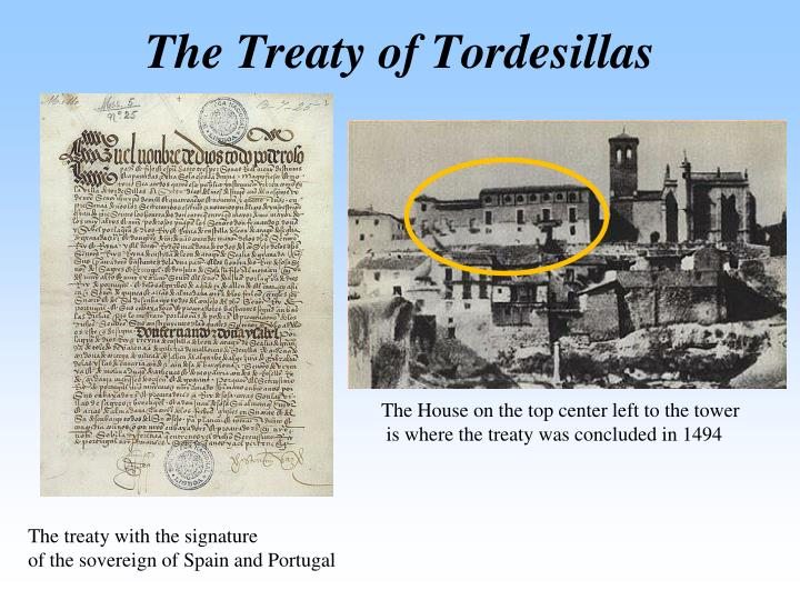 The Treaty of Tordesillas