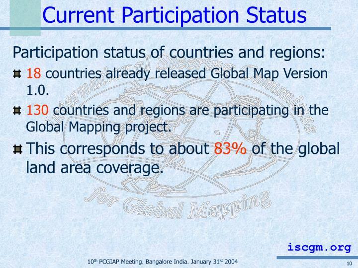 Current Participation Status