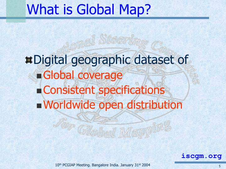What is Global Map?