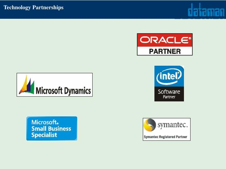 Technology Partnerships