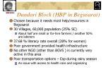 dandari block hbp in begusarai