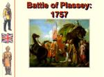 battle of plassey 1757