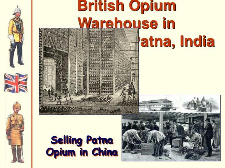 British Opium Warehouse in