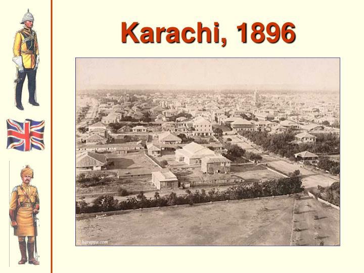 Karachi, 1896