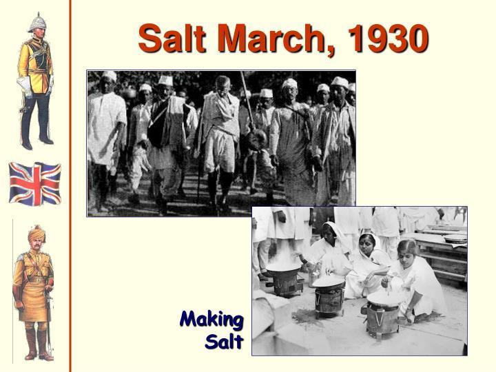 Salt March, 1930