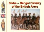 sikhs bengal cavalry of the british army