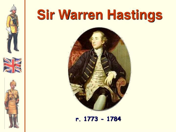 Sir Warren Hastings