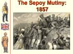 the sepoy mutiny 1857