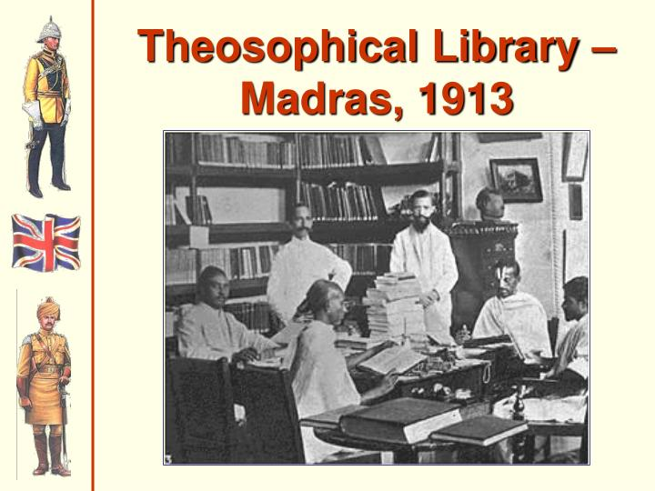 Theosophical Library – Madras, 1913