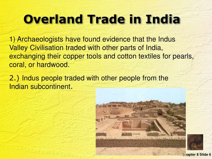 Overland Trade in India