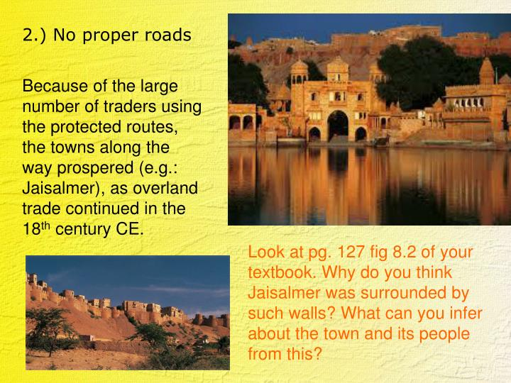 The town of Jaisalmer