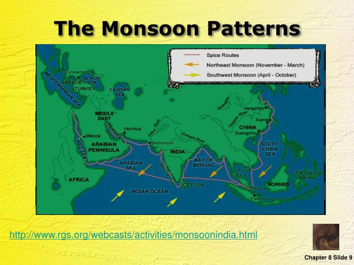 The Monsoon Patterns