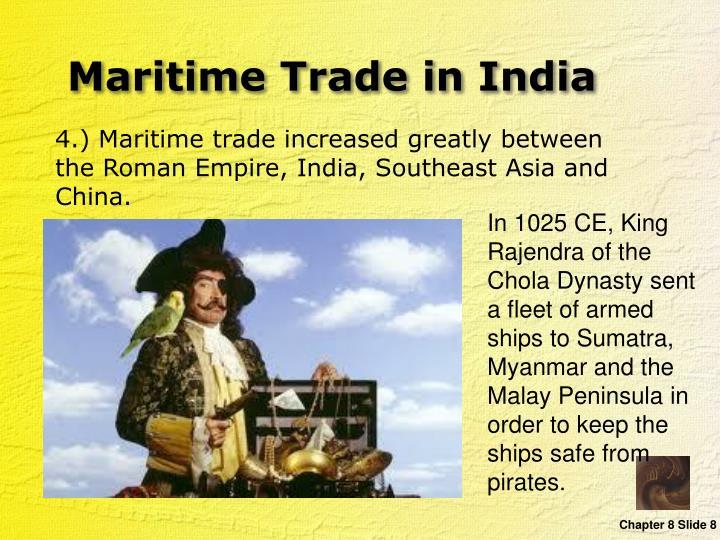 Maritime Trade in India