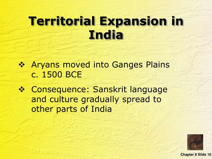 Territorial Expansion in India