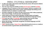 india cultural geography