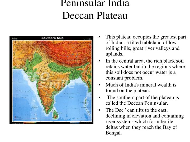 Peninsular India
