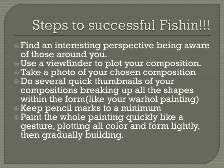 Steps to successful