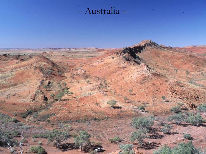 Australia –