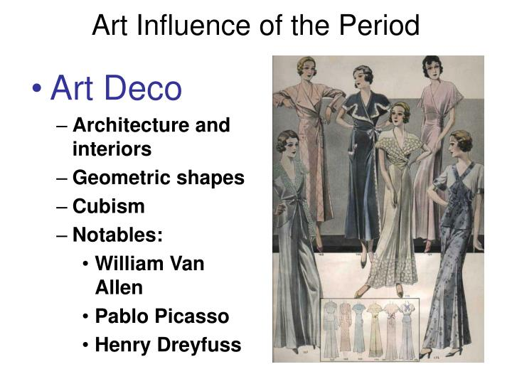 Art Influence of the Period