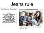 jeans rule