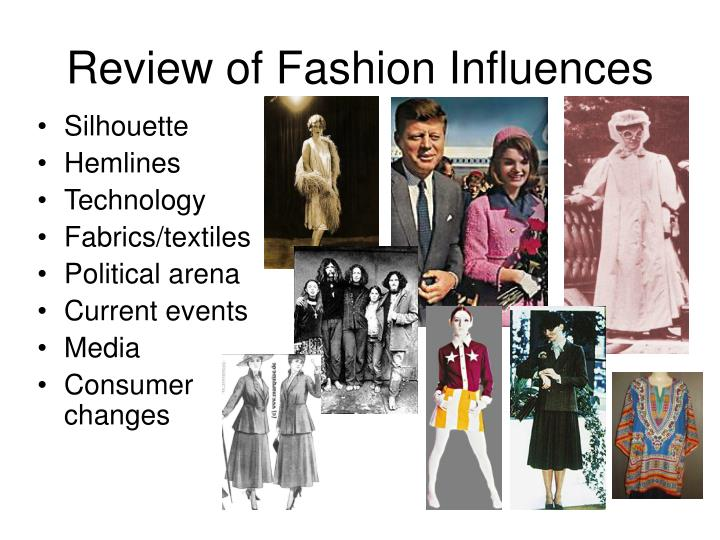 Review of Fashion Influences
