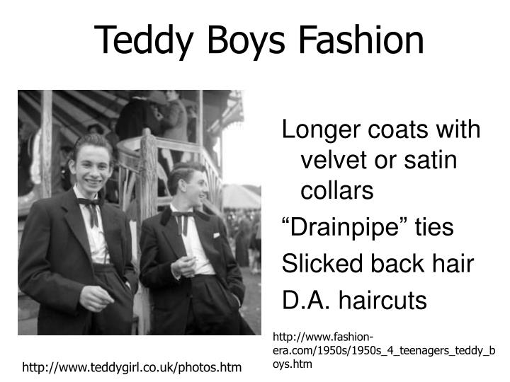 Teddy Boys Fashion